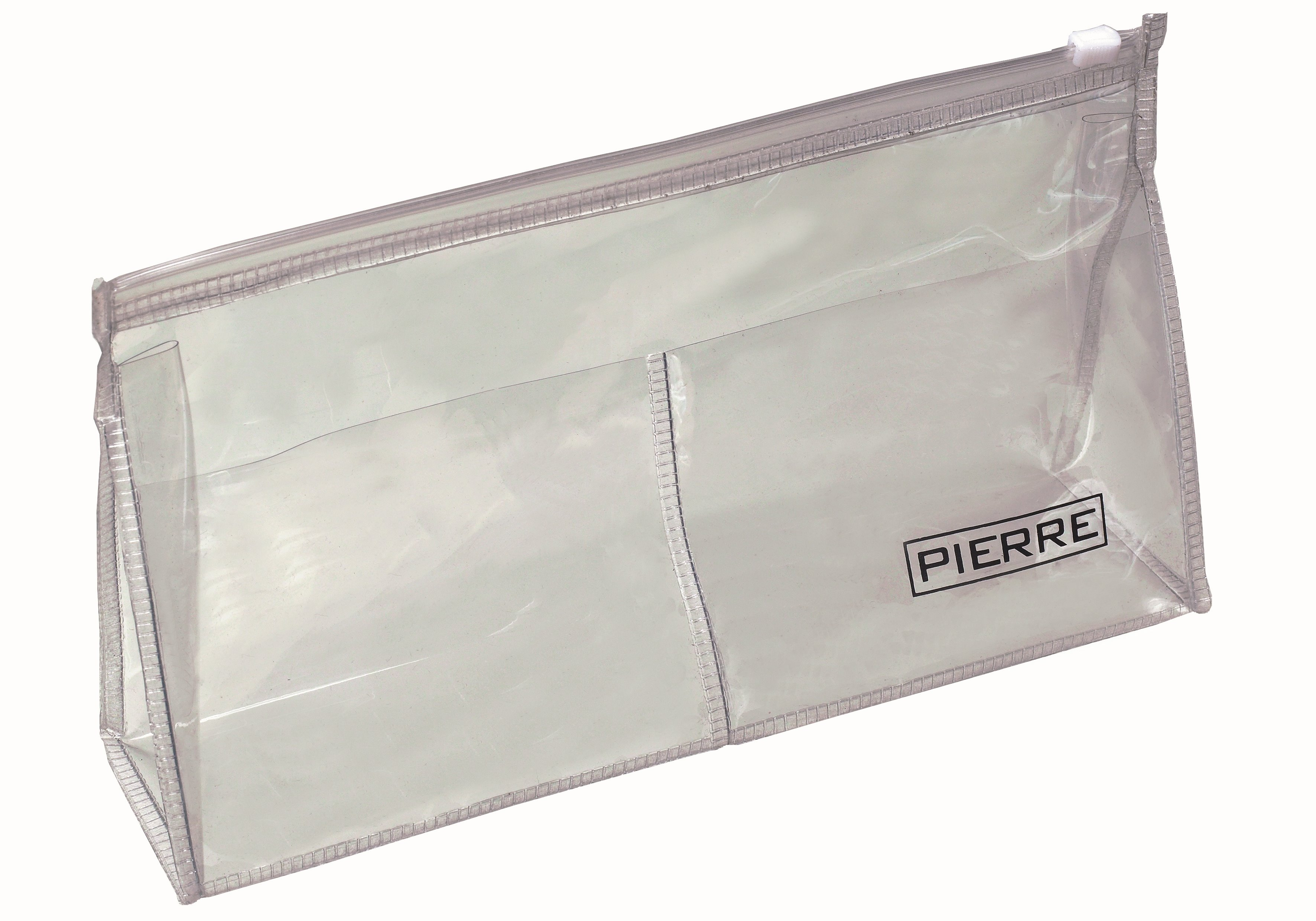 Transparent toilet bag in strong plastic. Good compartment design with one large compartment and two smaller pockets. Zip closure to ensure the contents stay in the toilet bag throughout your journey. Complies with the stricter security rules which many airlines impose with regard to cosmetics and toiletries in your hand luggage while onboard the plane. The perfect choice if you want to bring your toilet bag as part of your hand luggage.